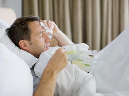 Syk i sengen