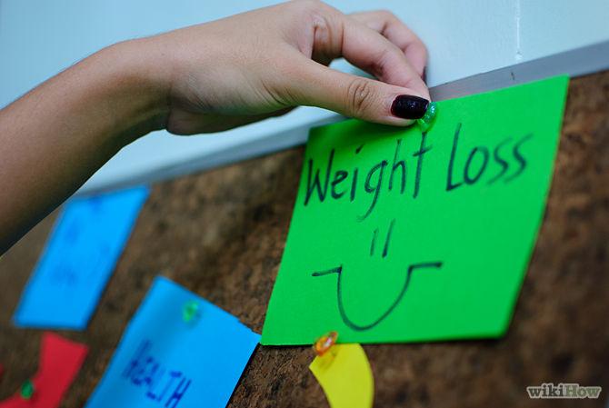 Lag post-it lapper med målene dine på og hvordan du skal komme deg dit