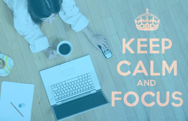 Finn ditt fokus. Og fokuser.