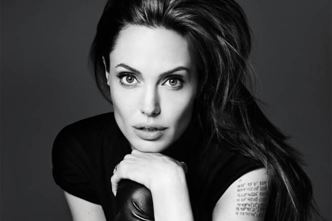 Angelina Joile er prakteksemplar på et symmetrisk ansikt